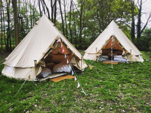 chiddingly festival glamping